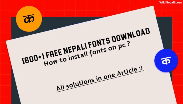 free-nepali-fonts