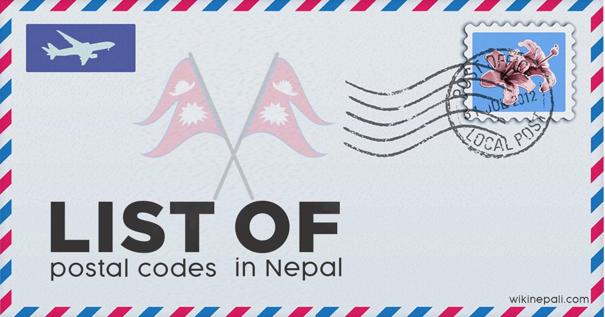 List of postal codes in Nepal
